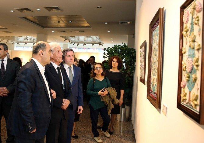 'Sanatın Sır Hali' Sksm'de Açıldı