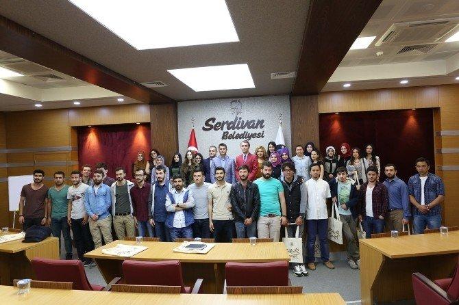 SAÜ Öğrencileri Kent Bilgi Sistemleri İle İlgili İlk Saha Çalışmasını Serdivan Belediyesi İle Yaptı