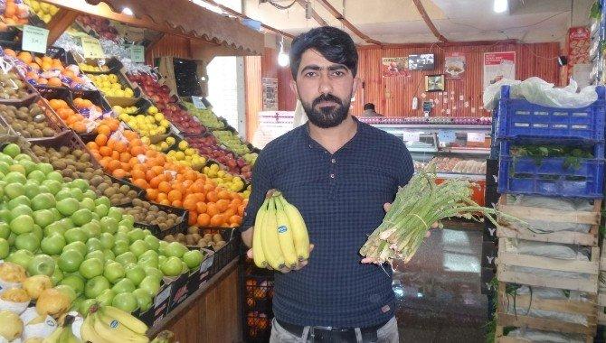 Van'da Uçkun İthal Muzdan Daha Pahalı
