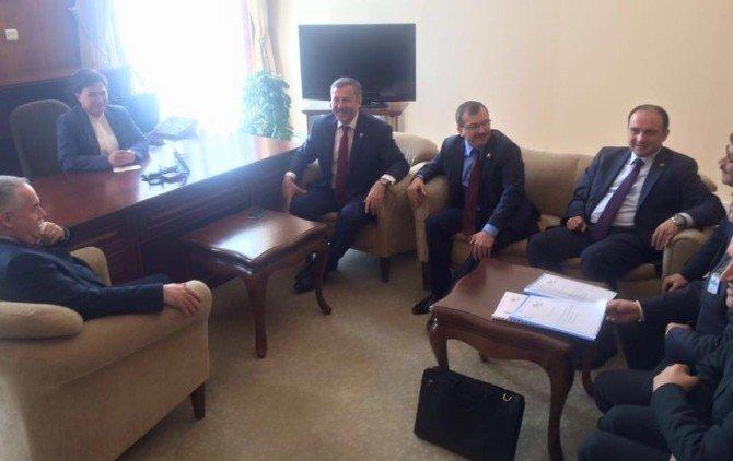 Başkan Çelik Yatırımlar İçin Ankara'da