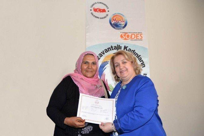 Sodes Kurslarına Katılan Kadınlara Sertifika
