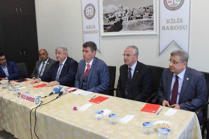 TBB Başkanı Feyzioğlu, Kilis'e Atılan Roketleri Değerlendirdi