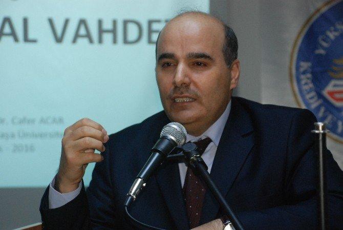 "Tokat'ta ""Tevhid Işığında Toplumsal Vahdet"" Konferansı"