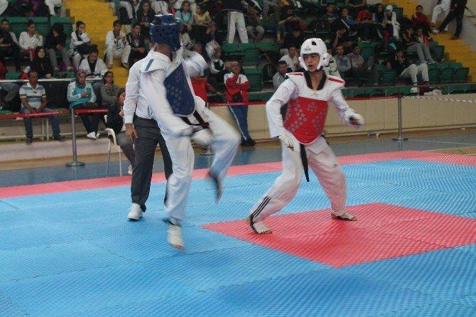 Türkiye Şampiyonası Tekvando Yarı Final Müsabakaları Malatya'da Başladı