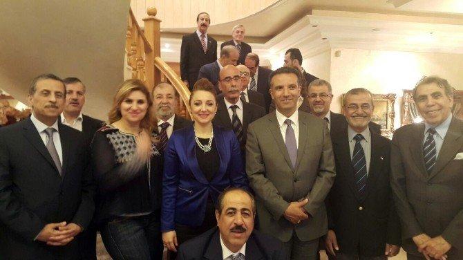 Ürdün İş Dünyası Türk İş Dünyasının Başkanı Nezaket Emine Atasoy Onuruna Akşam Yemeği Verdi