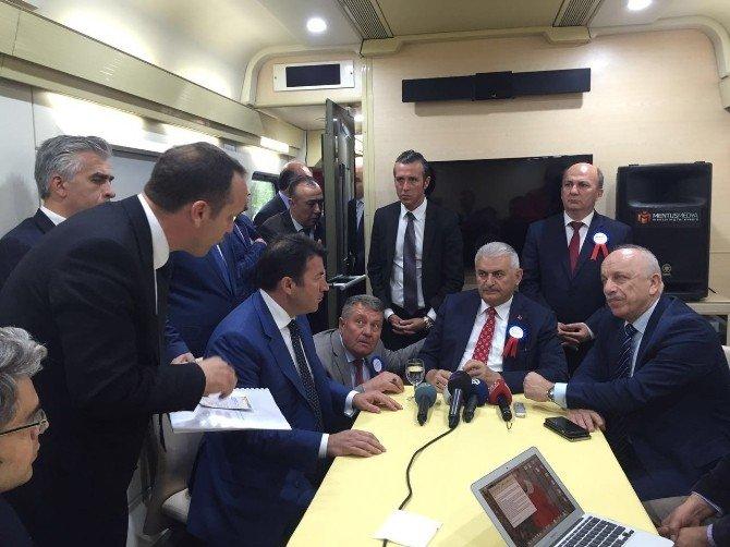 Zonguldak Platformu Yurt İçi Seferleri İçin Bakan Yıldırım İle Görüştü