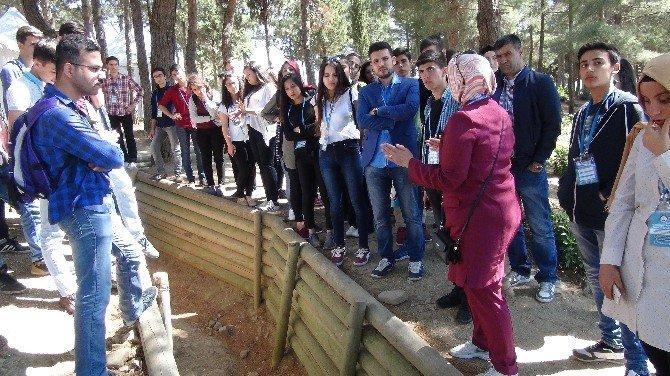 Gaziantepli Öğrenciler Çanakkale'de Tarihe Yolculuk Yaptı