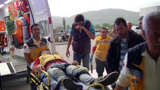 Motosiklet Takla Attı: 2 Yaralı
