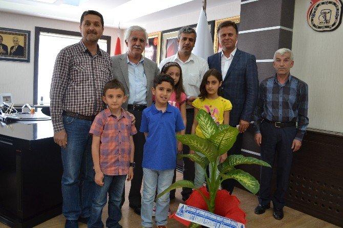 Okul Aile Birliğinden Başkan Toprak'a, Teşekkür Ziyareti