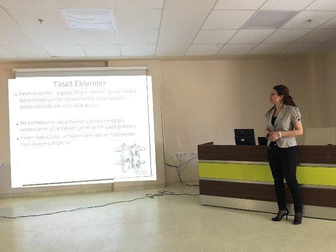 ADÜ Hastanesi'nde 'Ultrason Eşliğinde Spinal Girişimler' Kursu Düzenlendi