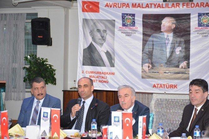 Amdf Mayıs Ayı Toplantısı Malatya'da Yapıldı