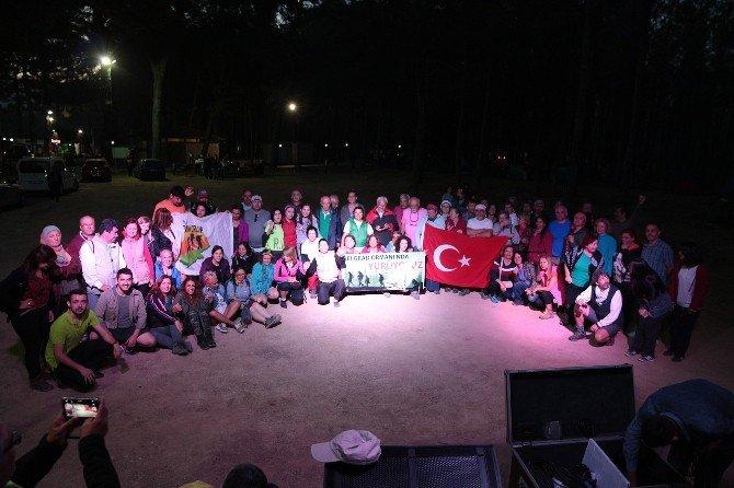 Tarih Ve Doğa Aşıkları Antalya'da Buluştu