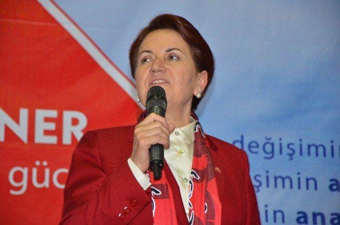 Koray Aydın Ve Meral Akşener İzmir'e Geliyor