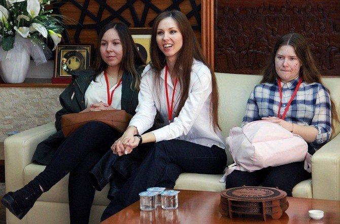 Yabancı Öğrencilerden, Sivas Belediyesi'ne Ziyaret