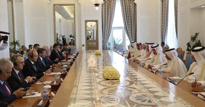 Türkiye İle Katar Arasında Askeri Anlaşma İmzalandı