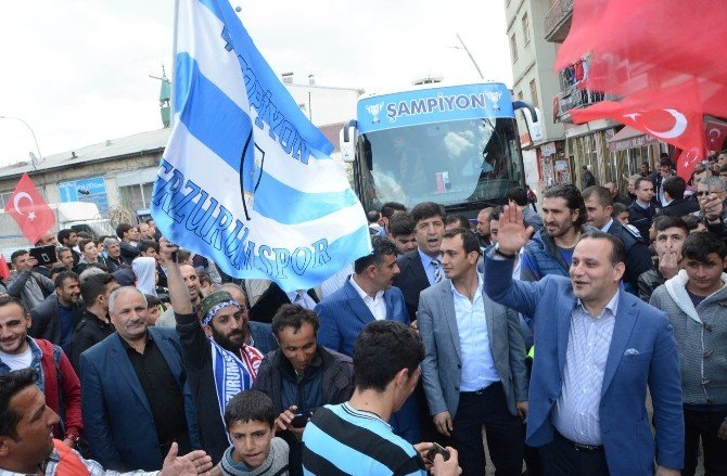 Pasinler Belediye Başkanı Sertoğlu, Şampiyon Bb Erzurumspor'u Ağırladı