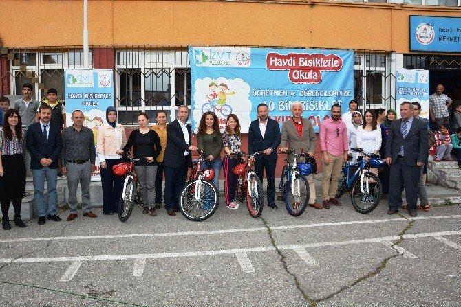 Bisikletler Çocuklar İle Buluşmaya Devam Ediyor