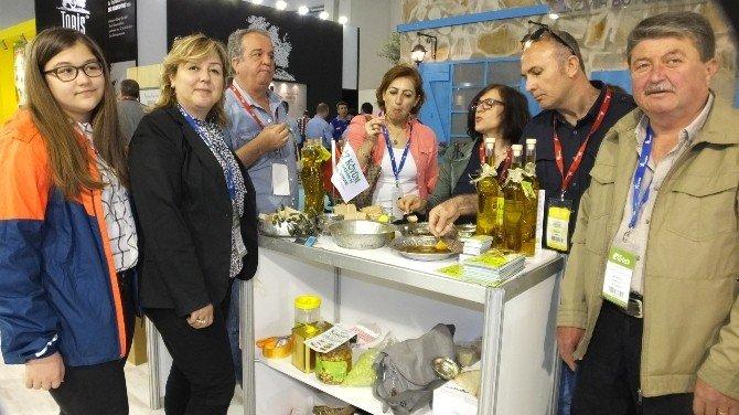 Burhaniye Zeytinyağları İzmir Olivtech Fuarında Tanıtıldı
