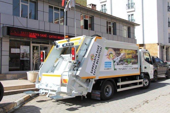 Çatak Belediyesi Araç Filosunu Genişletiyor