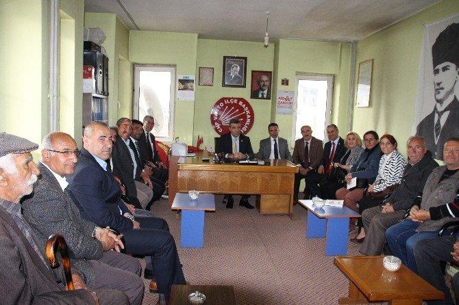 CHP Genel Başkan Yardımcısı Öztürk Varto'da