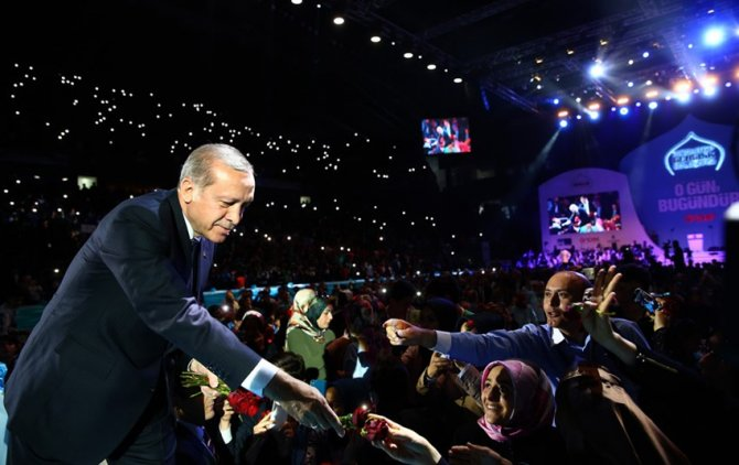 Erdoğan: İmam hatipler bu ülkeye cumhurbaşkanı başbakan bakan yetiştirdi