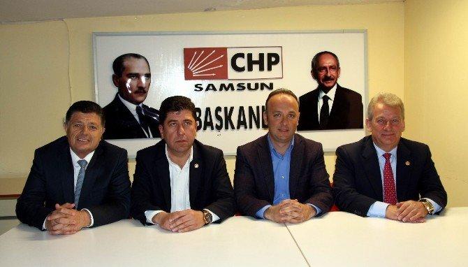 CHP'li Pekşen'den Samsun-şanlıurfa Arasına Frigorifik Tren Önerisi