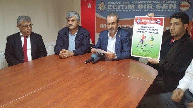 Eğitim-bir Sen Tarafından Futbol Turnuvası Düzenlenecek