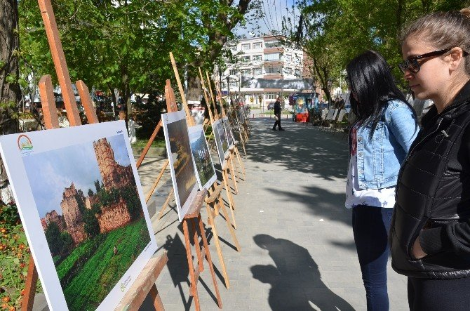 """Sinop'ta """"Tarım Ve İnsan"""" Fotoğraf Sergisi Açıldı"""