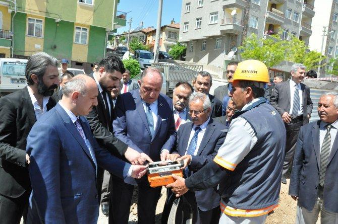 İŞKUR'un yeni binasının temeli atıldı