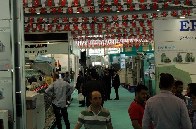 Tekstil'in devleri Kahramanmaraş'ta buluştu