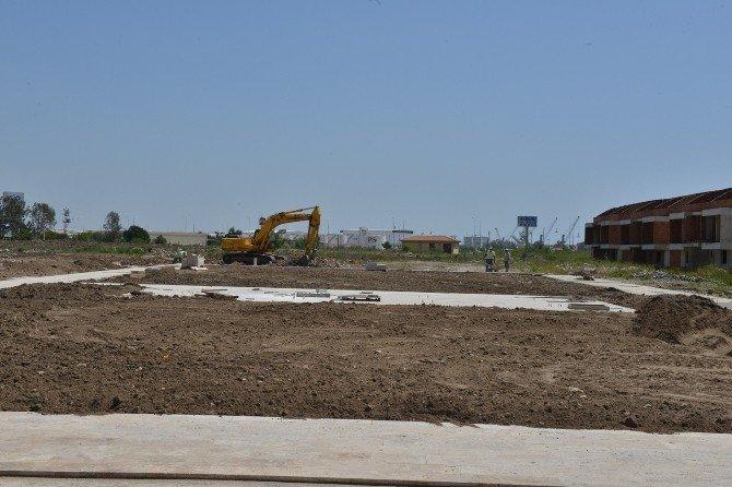 Sarısu Mahallesi'ne Yeşil Alan Ve Yeni Bir Park