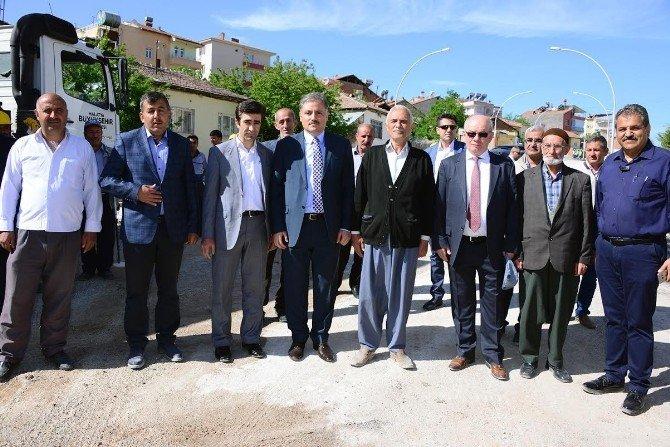 Eşref Bitlis Caddesi'ndeki Çalışmalar Tamamlandı