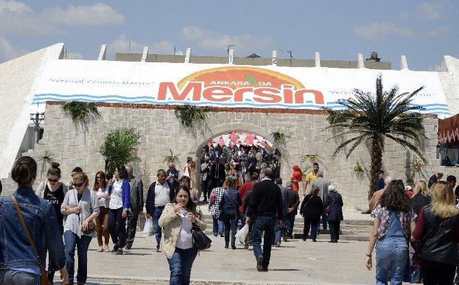 Mersin Tanıtım Günleri Ankara'da Başladı