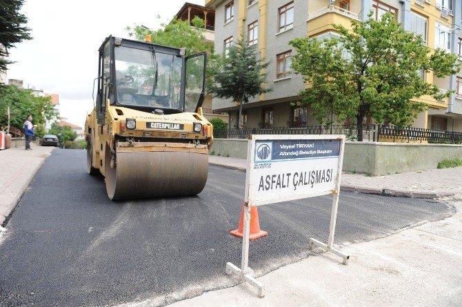 Altındağ'da Asfalt Sezonu Başladı