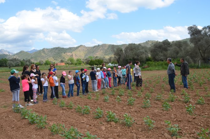 Öğrencilere, beslenmenin önemi anlatıldı