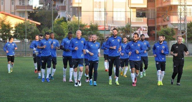 Multigroup Alanyaspor'da Adanaspor Maçı Hazırlıkları Sürüyor