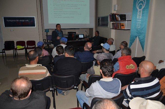 Osmancık'ta İşçi Sağlığı Ve Güvenliği Eğitim Semineri Verildi