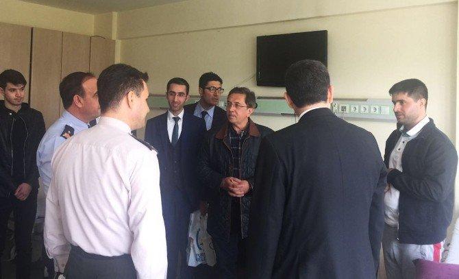 Başkan Çetin, GATA'da Gazileri Ziyaret Etti