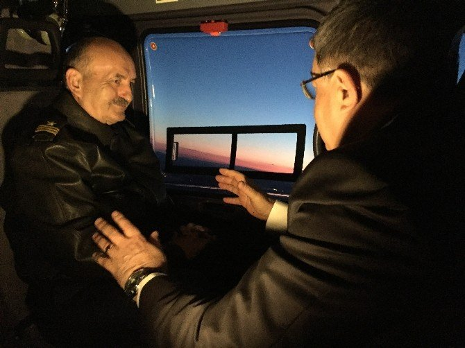 Bakan Müezzinoğlu Gece Görüşlü Ambulans Helikopterleri Tanıttı