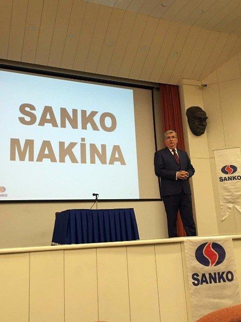 Sanko Makina Bilkent Girişimcilik Zirvesinde
