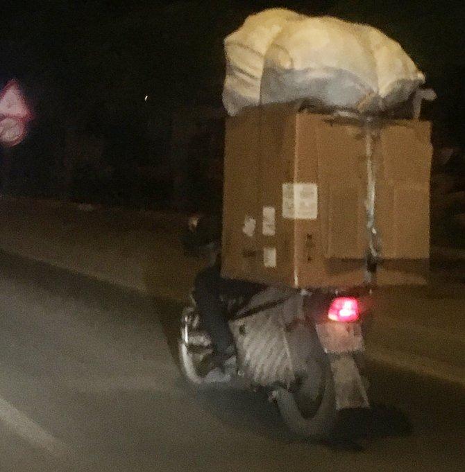 Kamyon değil motosiklet