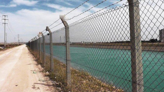 Urfa'da boğulmalara karşı tel örgülü önlem