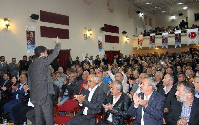Sinan Oğan Çankırı'dan Bahçeli'yi Eleştirdi