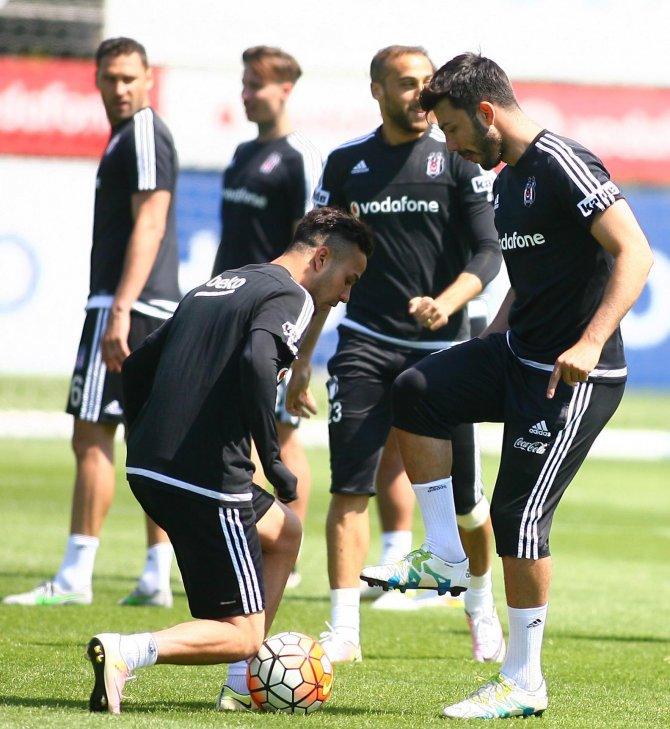 Lider Beşiktaş, Kayserispor maçı hazırlıklarını sürdürdü