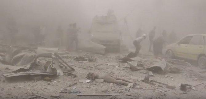 Esed'in Halep'teki sivil katliamı sürüyor