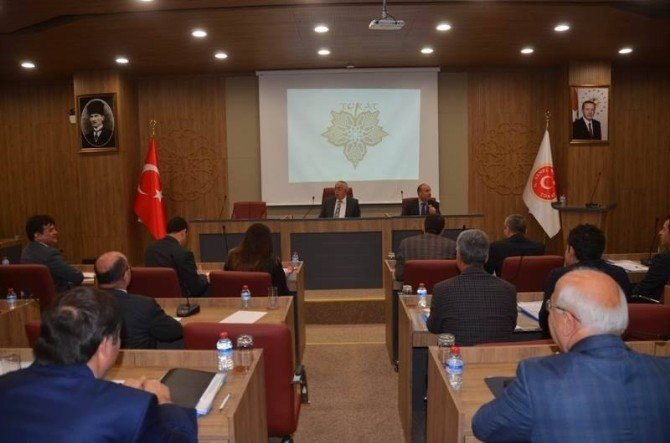 Tokat'ta Kaymakamlar Toplantısı
