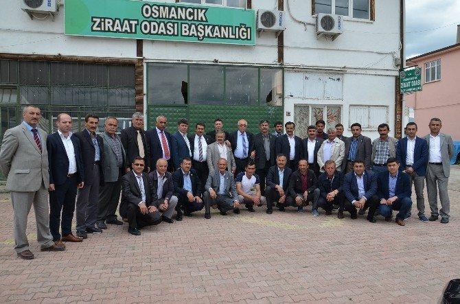 Ziraat Odası Başkanları Osmancık'ta Toplantı