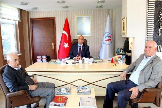 Türkiye Hentbol Federasyonu Başkanı'ndan Özyurt'a Ziyaret