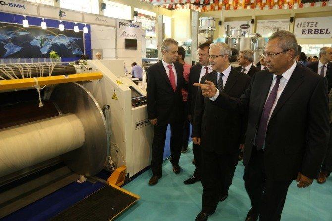 Kahramanmaraş Uluslararası Tekstil Makineleri Fuarı Açıldı