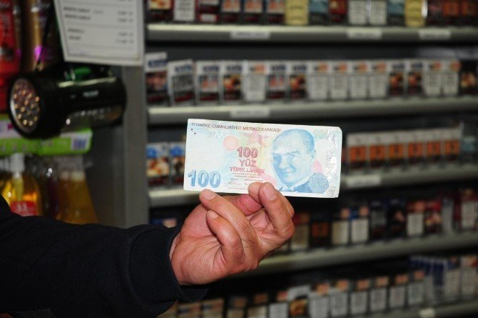 Van Esnafının Sahte Parayla Başı Dertte